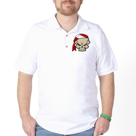 Skull Diver 2 Golf Shirt