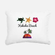 Kekaha Beach Rectangular Canvas Pillow