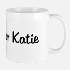 Friends for Katie pink ribbon Mug