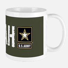 U.S. Army: Hooah (Military Green) Mug