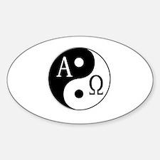 Unique Alpha female Sticker (Oval)