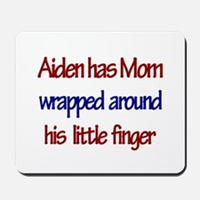 Aiden - Mom Wrapped Around F Mousepad