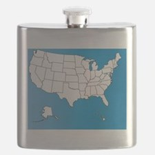 Unique Geography Flask