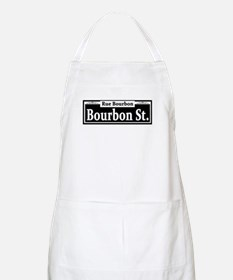 Bourbon St. Sign BBQ Apron