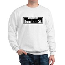 Bourbon St. Sign Sweatshirt