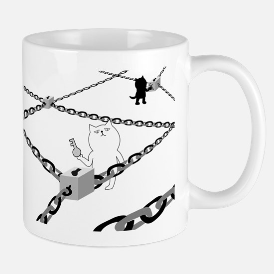Cats and locks Mugs