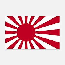 Unique Japan flag Car Magnet 20 x 12