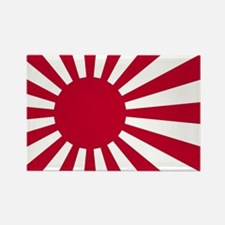 Cute Japan flag Rectangle Magnet