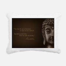 Cool Buddah Rectangular Canvas Pillow