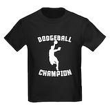 Dodgeball Kids T-shirts (Dark)