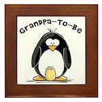 Grandpa to Be Framed Tile