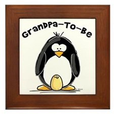 Grandpa to Be Framed Tile