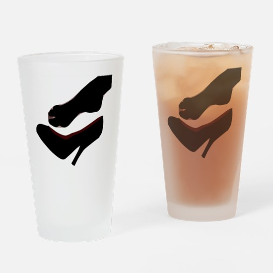 Cute Toes Drinking Glass