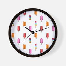 Cute Food themed Wall Clock