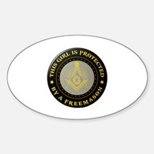 Protected by Freemason Decal