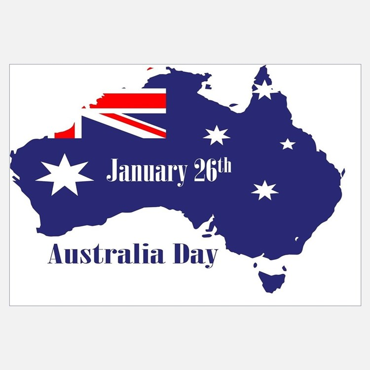 Australia day wall art australia day wall decor for Australia day decoration
