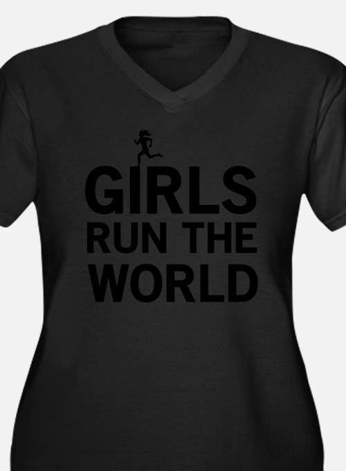 Girls run the world Plus Size T-Shirt