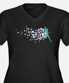 Circles Plus Size T-Shirt