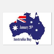 Happy Australia Day Postcards (Package of 8)