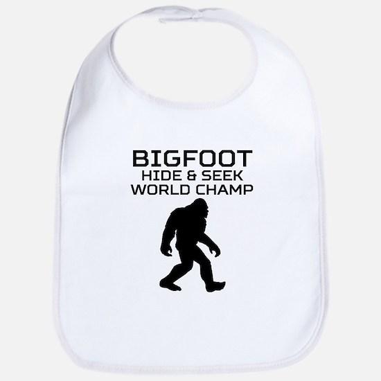 Bigfoot Hide And Seek World Champ Bib