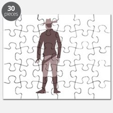 old west Cowboy gunslinger Puzzle