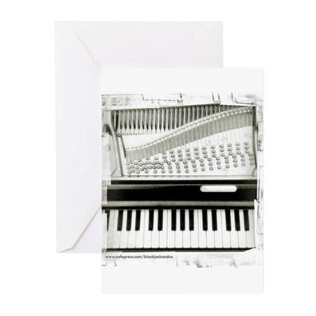 Piano Sq Greeting Cards (Pk of 20)