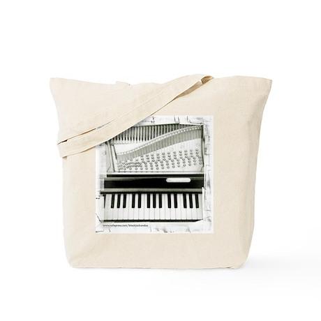 Piano Sq Tote Bag