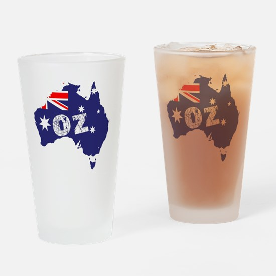 Unique Australian flag Drinking Glass