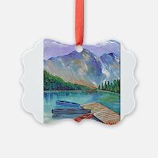 Lake Boat Ornament
