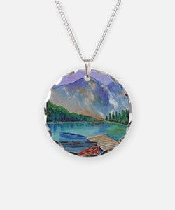 Lake Boat Necklace