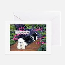 In Sympathy rabbit Greeting Cards