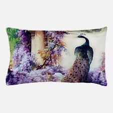 Bidau Peacock, Wisteria, Doves Pillow Case