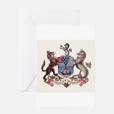 Belfast N Ireland Coat of Arms Greeting Cards