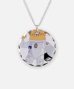 cat space Necklace