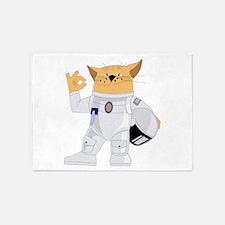 cat space 5'x7'Area Rug
