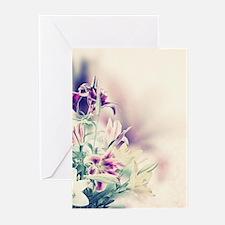 Vintage Flowers Greeting Cards
