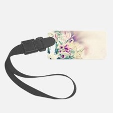 Vintage Flowers Luggage Tag