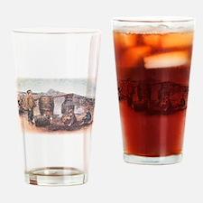 An Irish Poteen Whiskey Still Drinking Glass