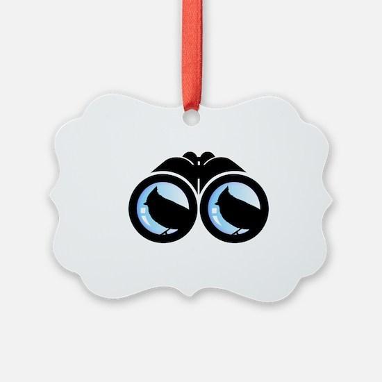 Bird Watching Ornament