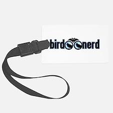 Bird Nerd Luggage Tag