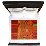 Aboriginal art Luxe King Duvet Cover