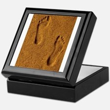 sand footprints, Keepsake Box