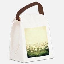 Rustic Daisies Canvas Lunch Bag