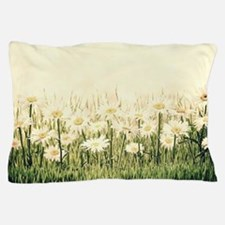 Rustic Daisies Pillow Case