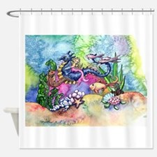 Water Ride Shower Curtain
