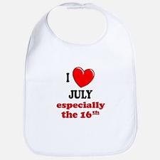 July 16th Bib