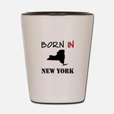 Born In New York Shot Glass