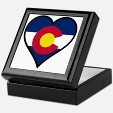 Unique Colorado flag Keepsake Box
