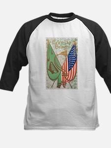 Irish American Flags Erin Go Bragh Baseball Jersey