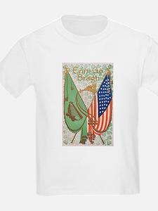 Irish American Flags Erin Go Bragh T-Shirt